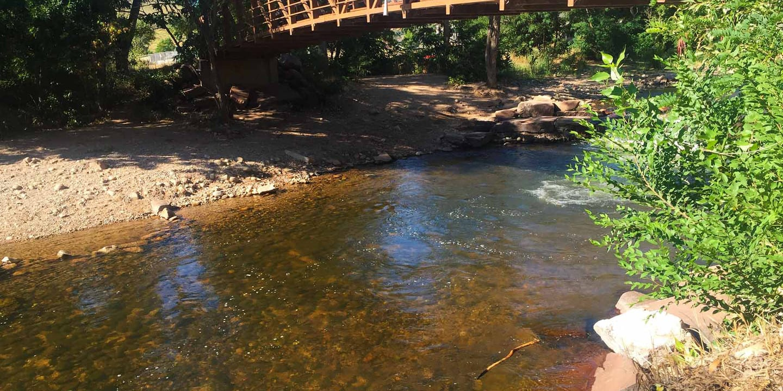 North Saint Vrain River Bridge Lyons
