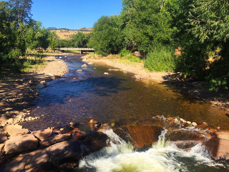 North Saint Vrain River Whitewater Lyons