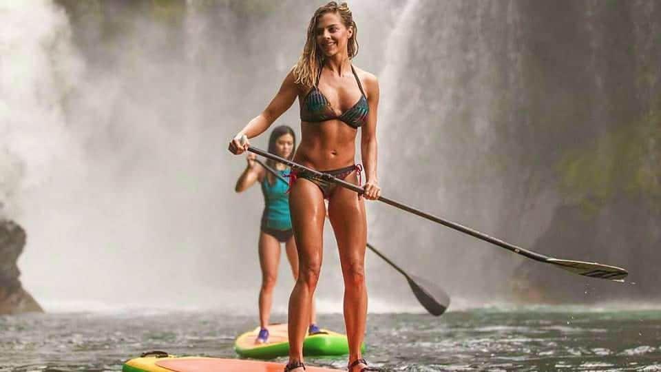 SOL Paddle Boards Bikini Waterfall