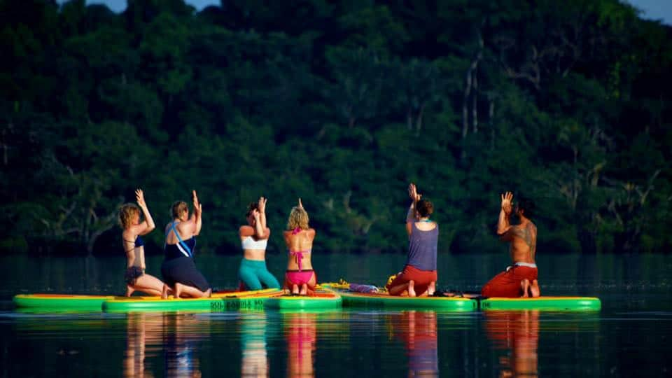 SOL Paddle Boards Yoga Group