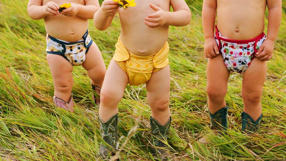 Thirsties Baby Reuseable Cloth Diapers