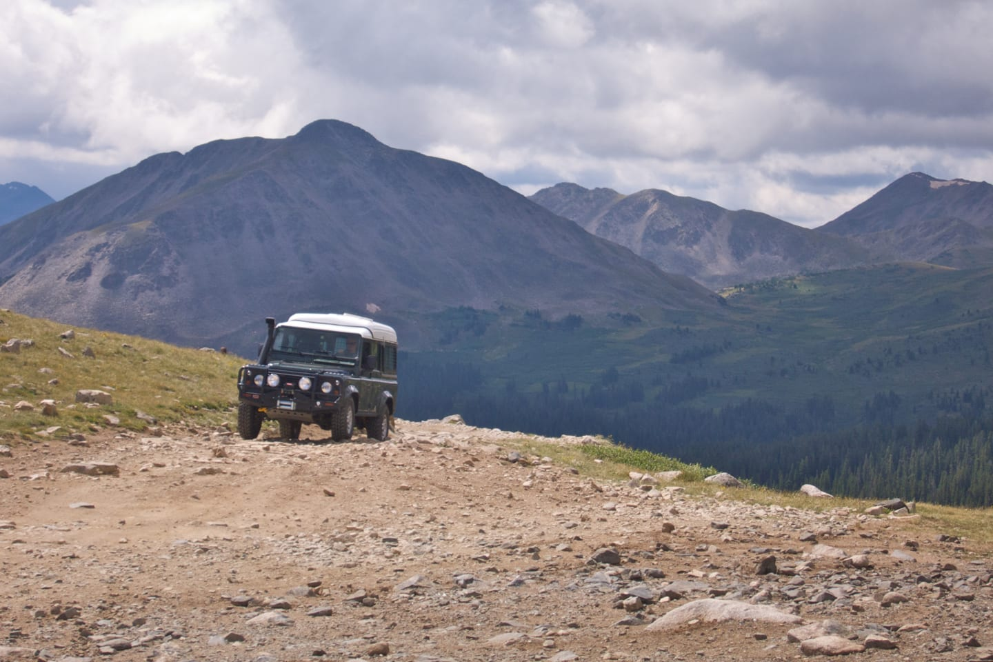 Tincup Pass 4x4 Drive Colorado