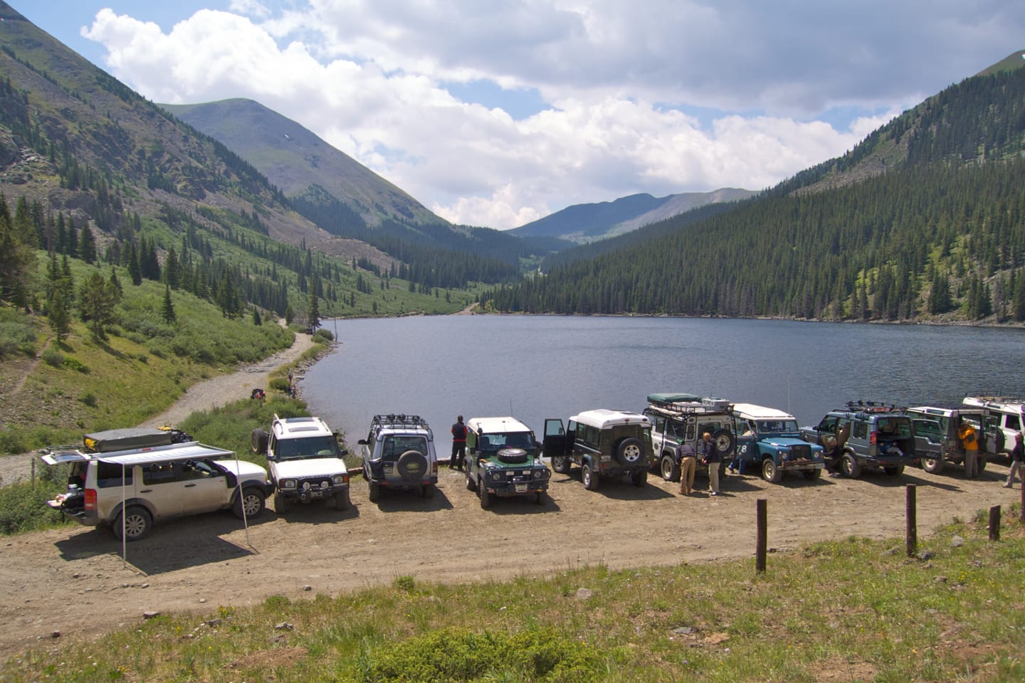 Tincup Pass Lake Colorado