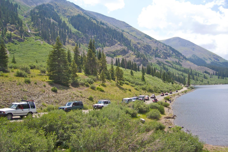 Tincup Pass Land Rover National Rally Colorado