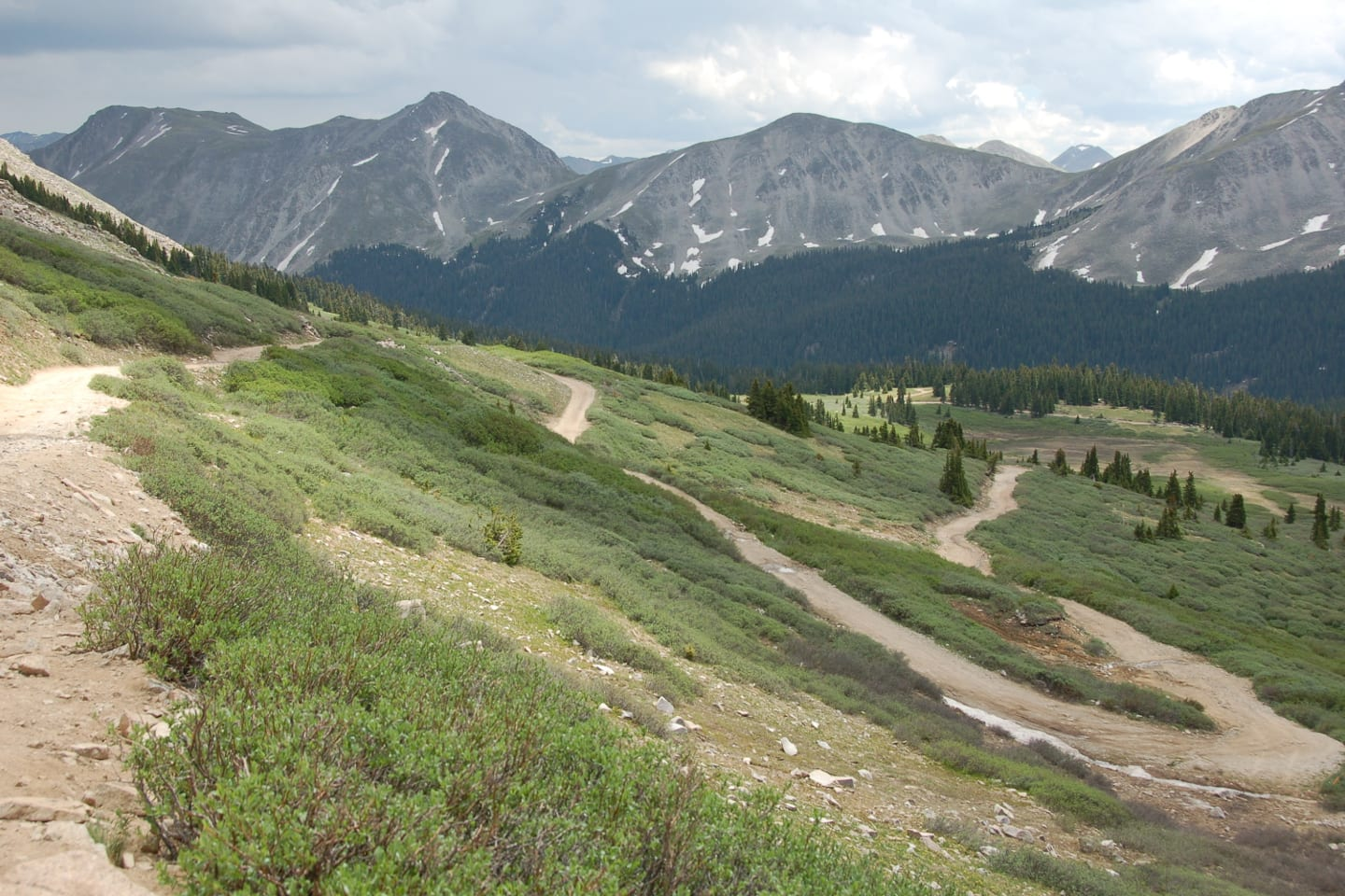 Tincup Pass Switchbacks Colorado
