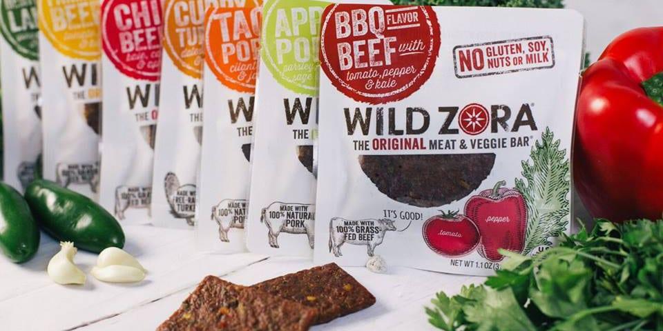 Wild Zora Meat Veggie Bars