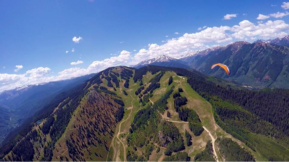 Aspen Paragliding Colorado Aspen Mountain