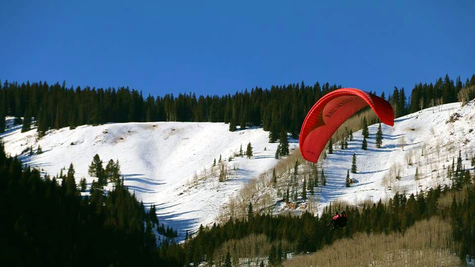 Aspen Paragliding Winter