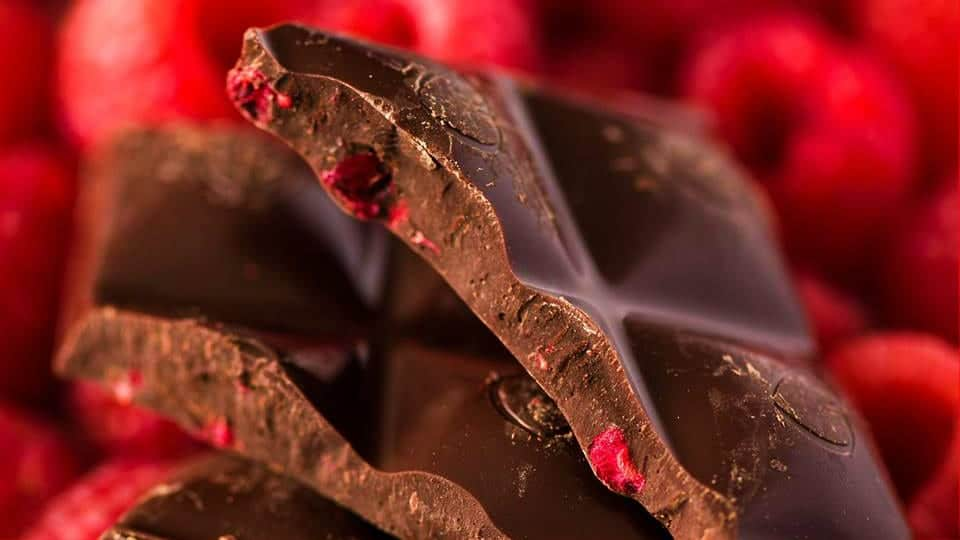 Chocolove Raspberry Dark Chocolate
