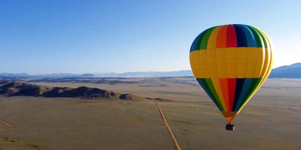 Colorado Hot Air Balloon Rides Hartsel Colorado