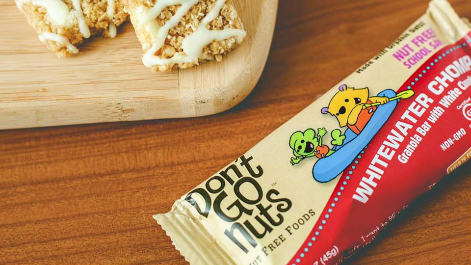 Don't Go Nuts Granola Bar White Chocolate