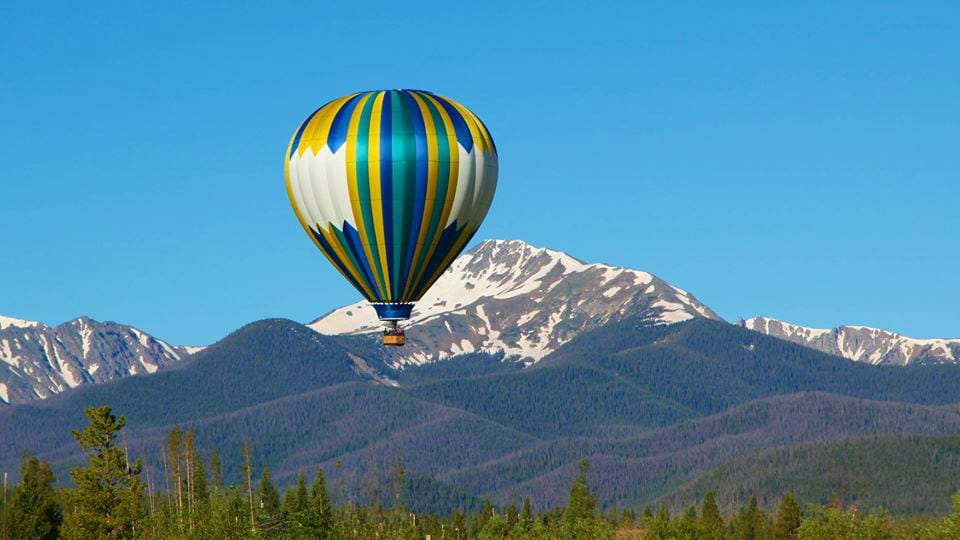 Grand Adventure Balloon Tours Fraser Colorado