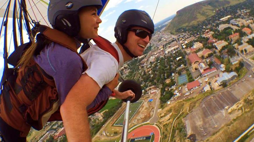 Hang Glide Golden Colorado