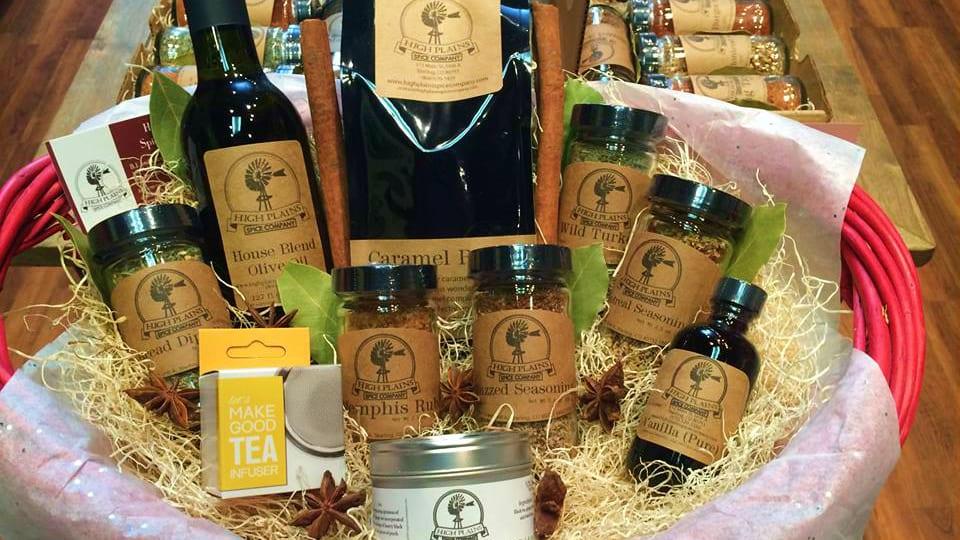 High Plains Spice Gift Basket