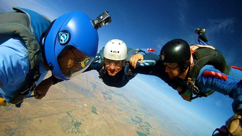 High Sky Adventures Parachute Club Group Skydive