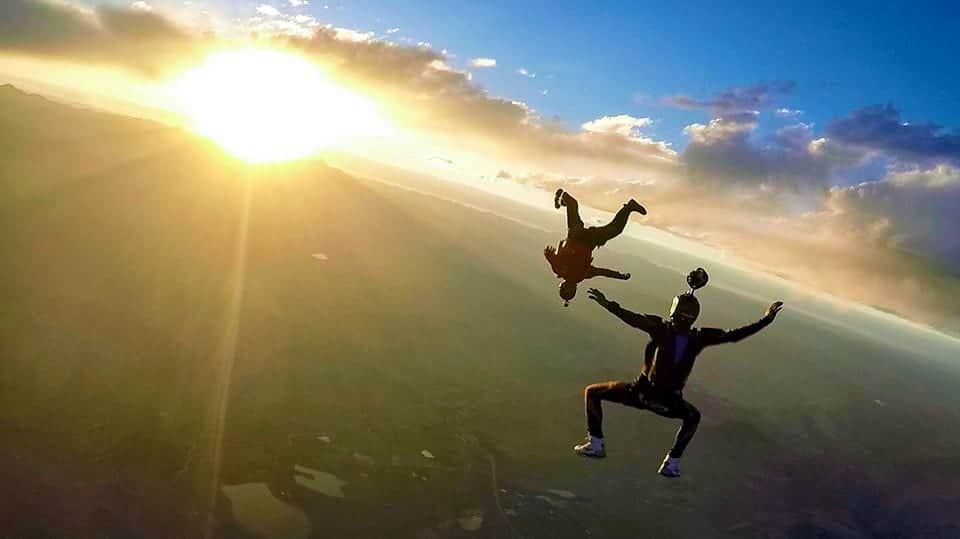 Mile-Hi Skydiving Center Sunset Colorado