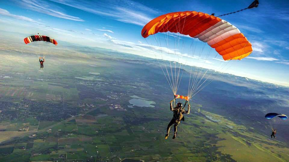 Mile-Hi Skydiving Center Parachute