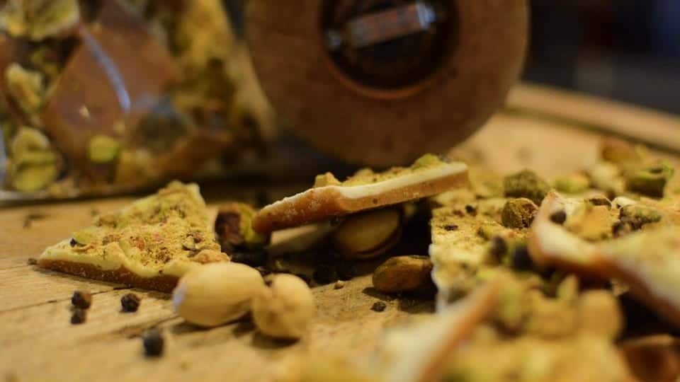 Miss Kelly's Candies Pistachio Toffee