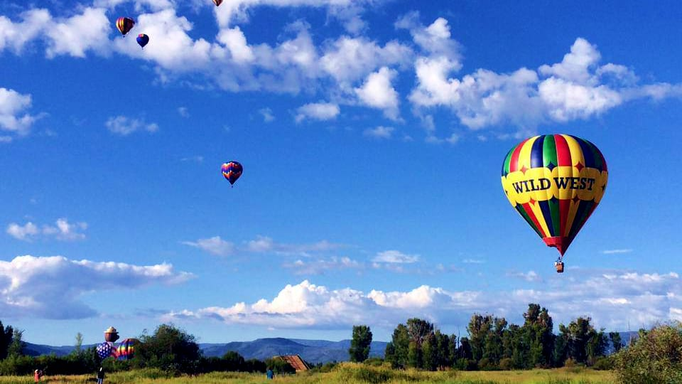 Hot Air Balloons Steamboat Springs