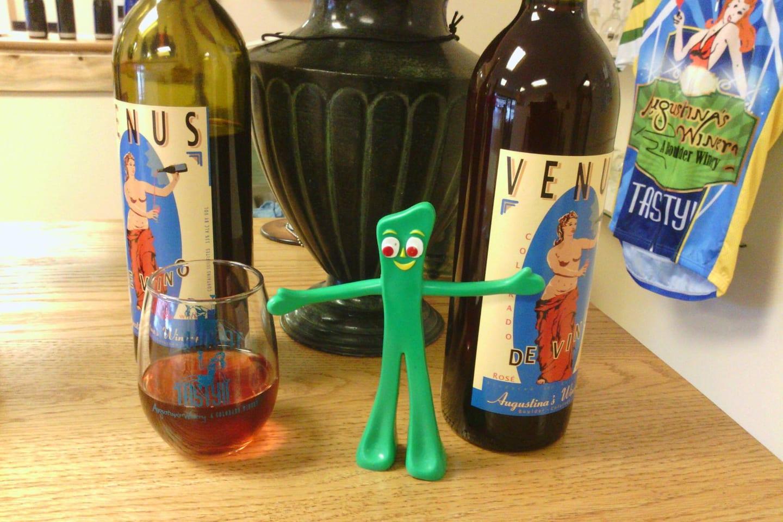 Augustina's Winery Venus Wine Bottle