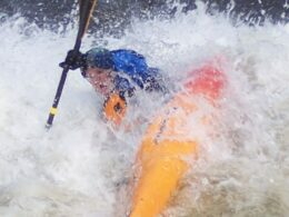 Avon Whitewater Park Kayaking Colorado