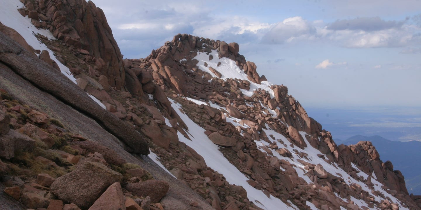 Barr Trail Pikes Peak Colorado
