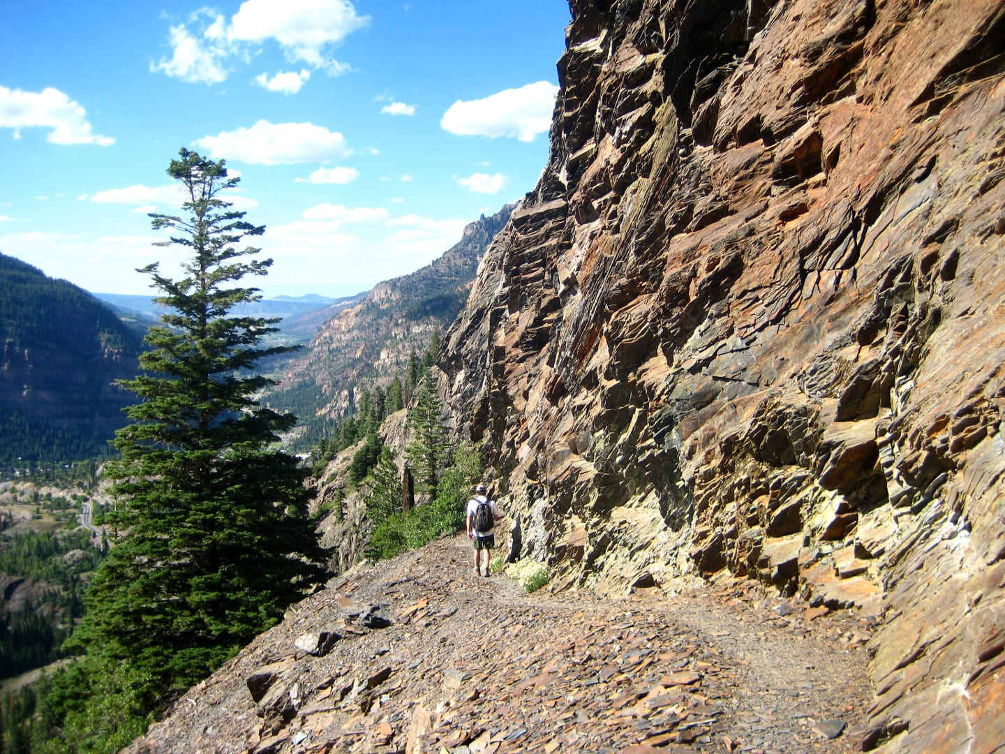 Bear Creek Trail Ouray Slate Hiking Path