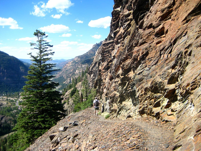 Bear Creek Trail Ouray Slate Hiking Path