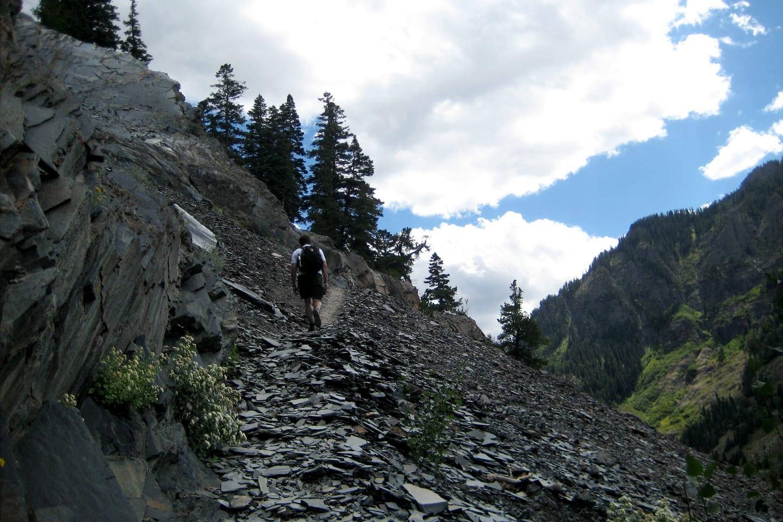 Bear Creek Trail Ouray Hiking Path