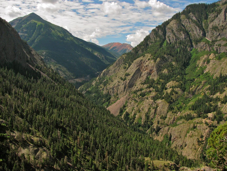 Bear Creek Trail Red Mountain