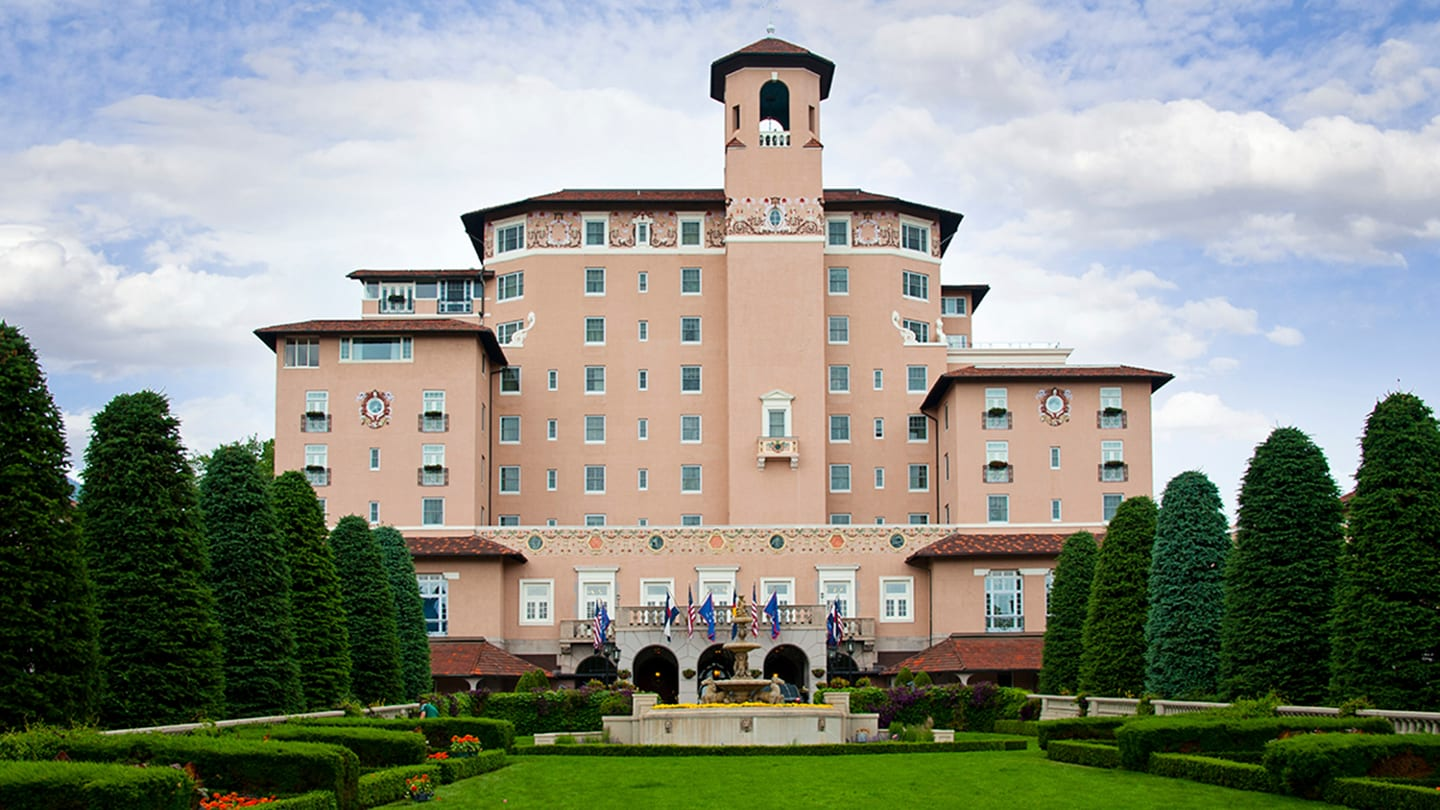 Broadmoor Hotel Colorado Springs AAA Five Diamond