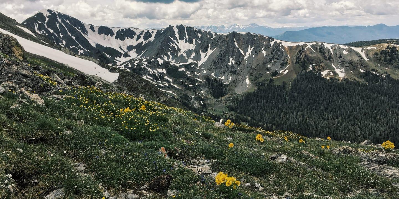 Byers Peak Wilderness Mountain Colorado