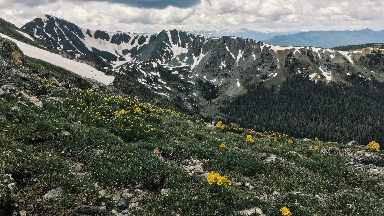 Byers Peak Wilderness Mountains Colorado
