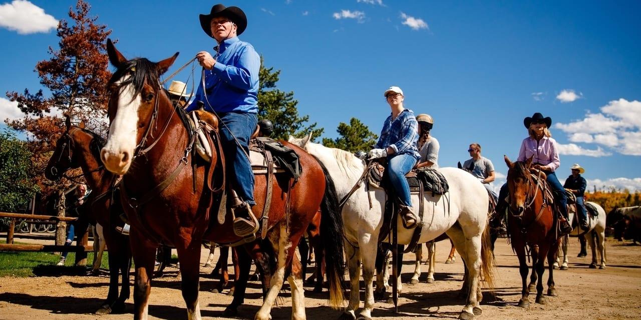 C Lazy U Ranch Horseback Riding