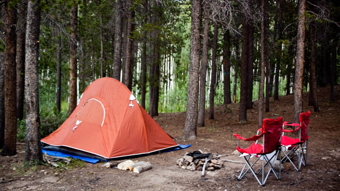 Dispersed Tent Camping Estes Park Colorado