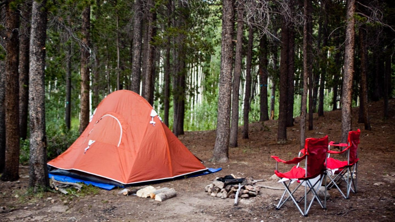 Dispersed Tent Camping Estes Park Colorado