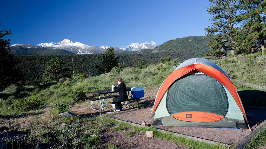Camping Rocky Mountain National Park Campground