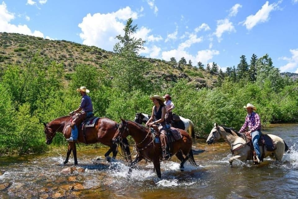 Cherokee Park Ranch Horseback Riding Colorado