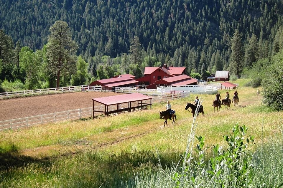Colorado Trails Ranch Horseback Riding Durango