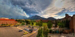 University of Colorado Boulder Flatirons