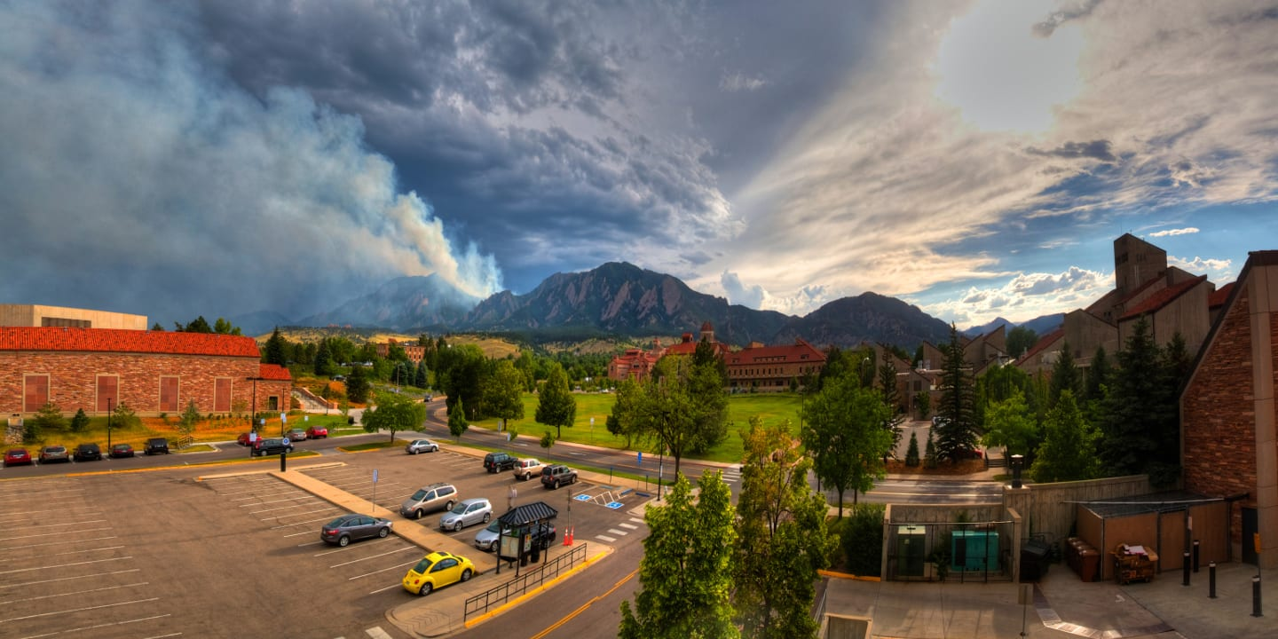 University of Colorado Boulder Flatirons