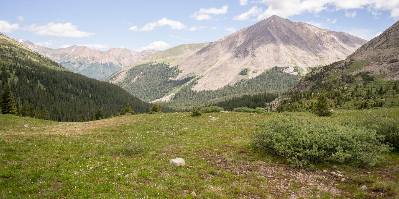 Collegiate Peaks Wilderness Lake Ann View