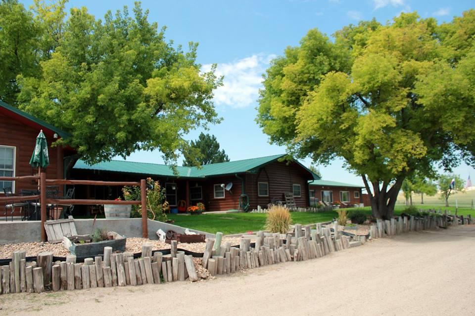 Colorado Cattle Co Log Ranch House Colorado