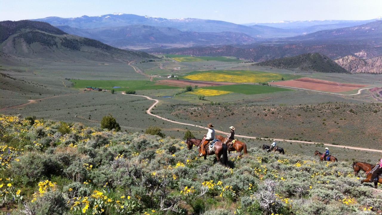 Colorado Dude Ranch Black Mountain Ranch Horseback Riding
