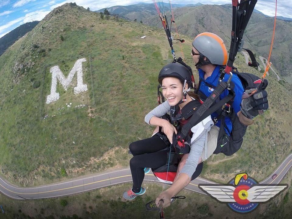 Colorado Paragliding Golden Colorado Mount Zion M
