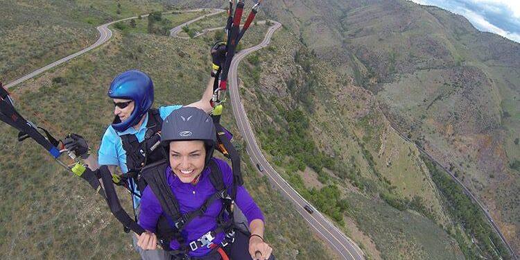 Colorado Paragliding Golden Colorado