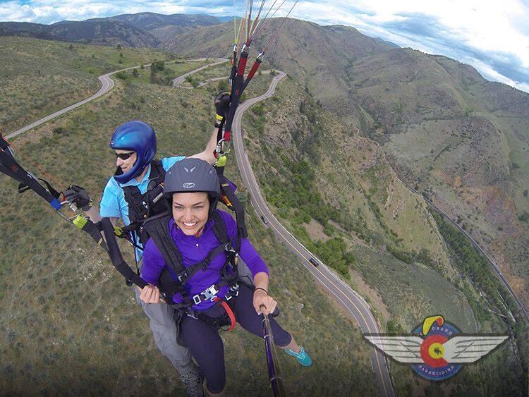 Colorado Paragliding Mount Zion