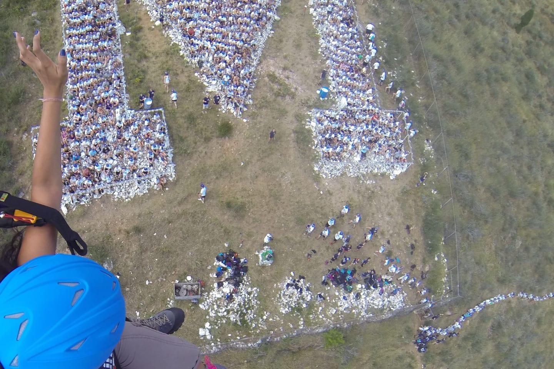 Colorado Paragliding Aerial View M