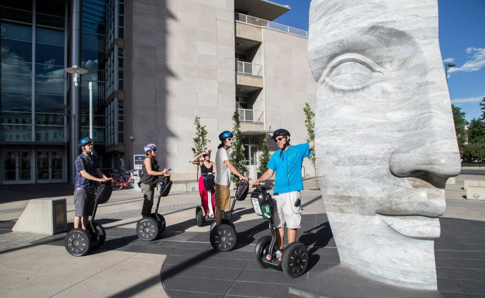 Colorado Segway Tours Big Head Statue