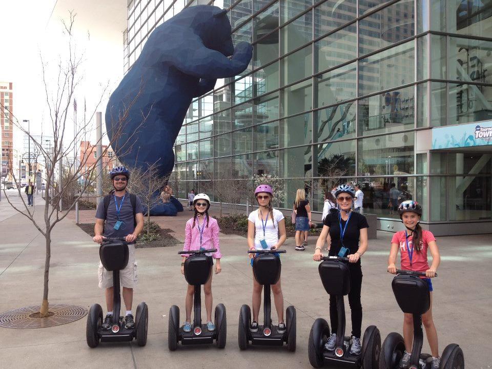 Colorado Segway Tours Denver Convention Center Bear